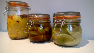 Preserved Lemons & Limes - One Week on