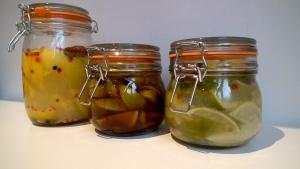 Preserved Lemons & Limes - One Week on